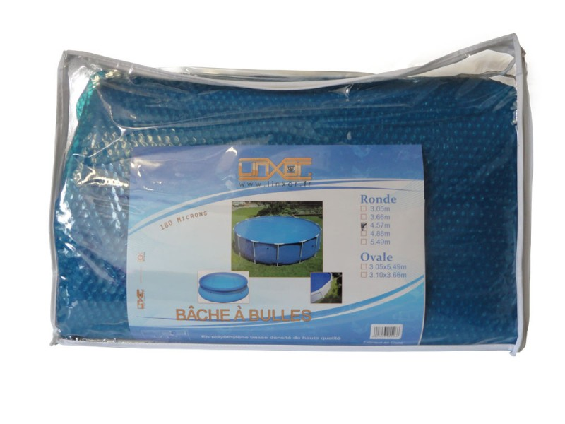 Bache a bulle piscine ronde 4 57 couverture intex ebay for Bache piscine intex 4 57