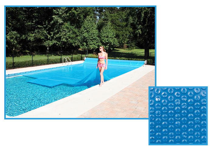 Bache bulle for Devis liner piscine sur mesure
